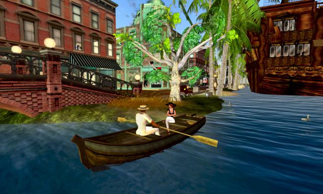 Cena do Second Life